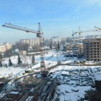 Фотозвіт з будівництва ІІІ черги житлового комплексу в районі парку ім. Шевченка станом на 22 листопада