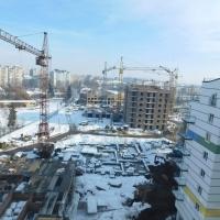 Хід будівництва ІІІ черги ЖК поблизу парку Шевченка станом на грудень