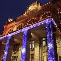 У Франківську оголосили конкурс на найкращий новорічний благоустрій