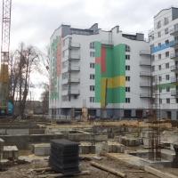 Фото-звіт з будівництва ІІІ черги ЖК поблизу парку Шевченка станом на січень