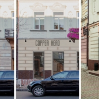 """У Франківську на відремонтованій пам'ятці архітектури встановили """"правильну"""" вивіску"""