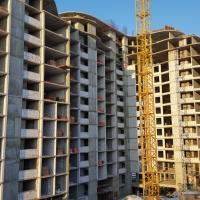Стан будівництва комплексу Parus на січень 2017 року