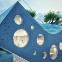 В Голландії представили будівництво Y-подібного будинку (фото)