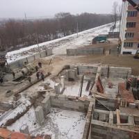 Стан будівництва житлового масиву «Паркова Алея» на лютий