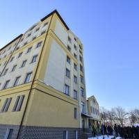 На Прикарпатті президент відкрив лікарню, будівництво якої тривало 35 років
