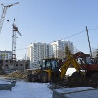 Фото-звіт з будівництва ІІІ черги житлового комплексу поблизу парку імені Шевченка станом на лютий