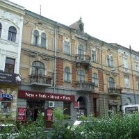 Знайомимось з історичними будівлями Івано-Франківська. Готель «Центральний». Фото