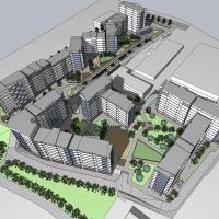 Фірма-боржник перетворить територію трикотажної фабрики у житловий квартал