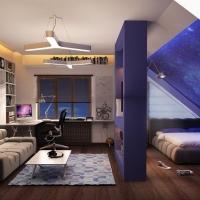 Новий тренд – квартира у мансарді. Фото