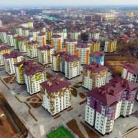 Хід будівництва містечка Калинова собода станом на березень