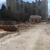 Хід будівництва ЖК по вул. Незалежності, 148А станом на березень