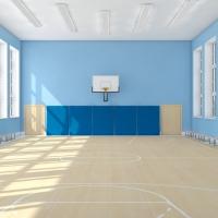 В івано-франківській школі завершується будівництво спортзалу. ФОТО