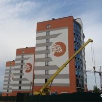 Стан будівництва комплексу «Містечко Соборне» на 27.04.2017 р.