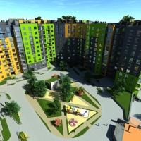 В Івано-Франківську будують сучасний житловий комплекс з підземним паркінгом та багатофункціональним «італійським двориком» (ФОТО)