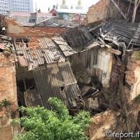 У центрі Івано-Франківська руйнується пам'ятка архітектури. ФОТО