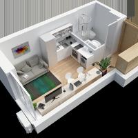 Однокімнатна стандарт чи смарт-квартира, що вигідніше?