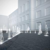 У центрі Франківська облаштують пішохідний фонтан. Проект