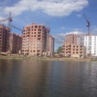 """Хід будівництва містечка """"Калинова Слобода"""" станом на травень"""