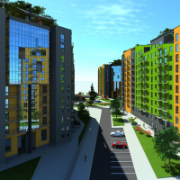 Фото-звіт з будівництва житлового комплексу Міленіум ЕКО