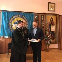 Директор ПФ «Галицький двір» Василь Друк отримав Орден Володимира Великого ІІ-го ступеня