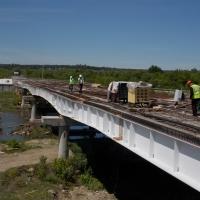 У Тисменицькому районі триває будівництво мосту. ФОТО
