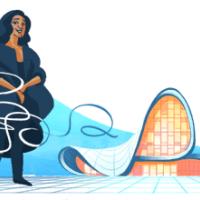 Google випустив дудл на честь архітектора  Захи Хадід
