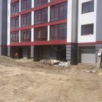 Хід будівнитва житлового будинку на вул. Вовчинецька станом на червень
