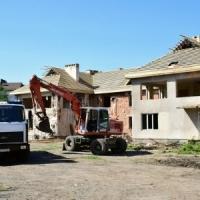 В Івано-Франківську триває реконструкція занедбаного дитячого садочка. Фото