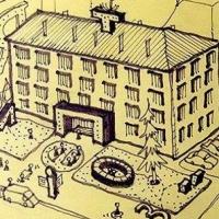 Франківські активісти впорядкують сквер перед друкарнею на Січових стрільців