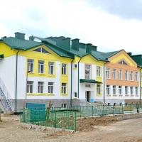 Будівництво садка у селі Микитинцях планують завершити до кінця року. Фото