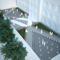 «Пішохідний фонтан» на стометрівці обійдеться Франківську у майже 8,5 млн грн