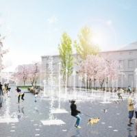 """На """"Каскаді"""" пішохідний фонтан побудують поруч із церквою"""