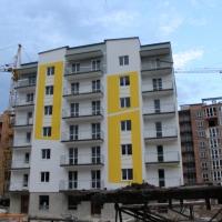 Хід будівництва ЖК поблизу парку ім.Шевченка станом на липень