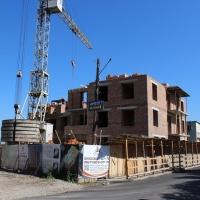 Хід будівництва ЖК по вулиці Богдана Хмельницького станом на липень