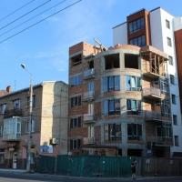 Хід будівництва ІІ черги ЖК по вул Залізнична, 3 станом на липень