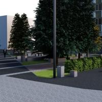 Зберегти від забудови: на Галицькій з'явиться сучасниий сквер із камерами спостереження. Відео