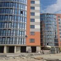 """Стан будівництва комплексу """"Містечко Соборне"""" на липень"""