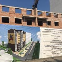Хід будівництва ЖК по вулиці Сніжна, 52 станом на серпень