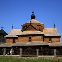 На Івано-Франківщині реконструювали старовинну дерев'яну церкву