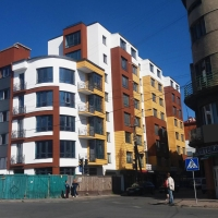 Хід будівництва ЖК по вулиці Залізнична, 3 станом на вересень