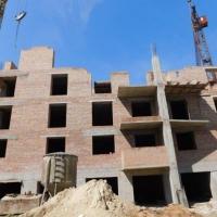 Хід будівництва будинків в районі парку імені Шевченка