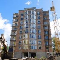 Хід будівництва житлового комплексу поблизу парку ім.Шевченка