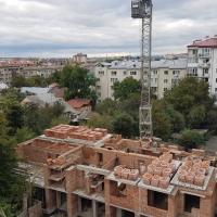 Хід будівництва ЖК по вулиці Залізнична, 3 станом на жовтень