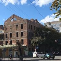 Хід будівництва з реконструкції будинку по вулиці Січових Стрільців, 18 станом на жовтень 2017