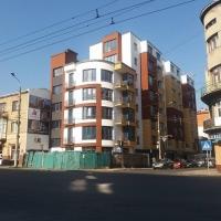 Хід будівництва ЖК по вулиці Залізнична, 3 станом на кінець жовтня