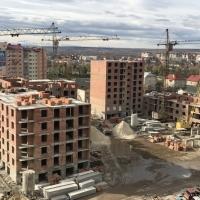 """Хід будівництва ЖК """"Левада Затишна"""" станом на листопад 2017 року"""
