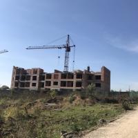 """Хід будівництва ЖК """"Левада Дем'янів Лаз"""" станом на листопад 2017 року"""