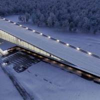 У Львові планують збудувати спорткомплекс із лижним спуском на даху (відео)