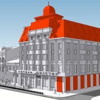 """Стало відомо, як може виглядати готель """"Дністер"""" після реконструкції. ФОТО"""