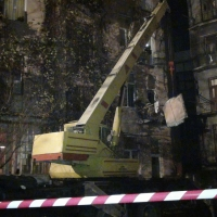 У Франківську обвалився балкон архітектурної пам'ятки